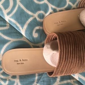 65300776aa9752 rag   bone Shoes - Rag   Bone Cameron Slide in Camel Suede